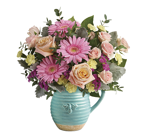 Teleflora's Bee Delighted Bouquet