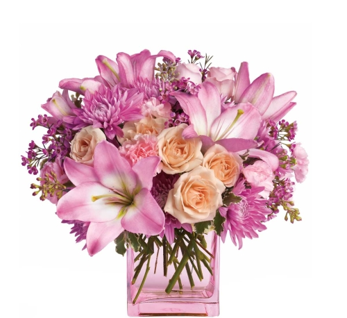 Teleflora's Possibly Pink Bouquet