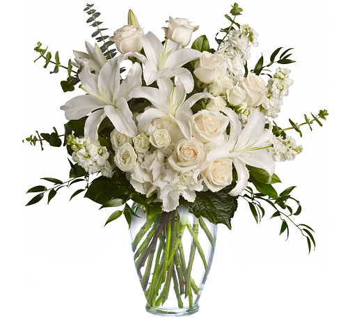 Teleflora's Dreams From the Heart Bouquet