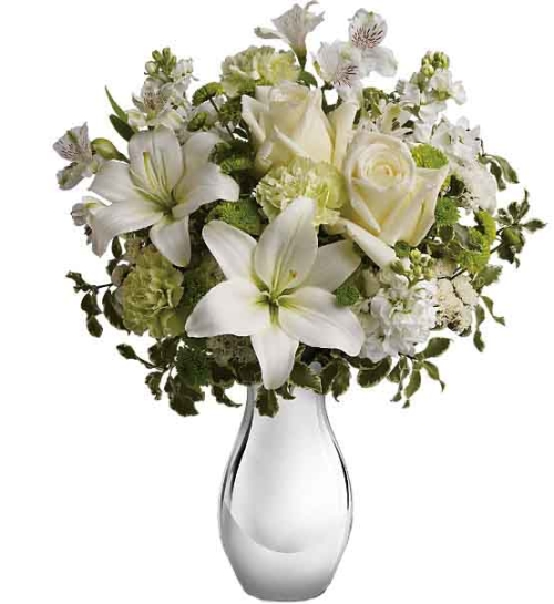 Teleflora's Silver Reflections Bouquet