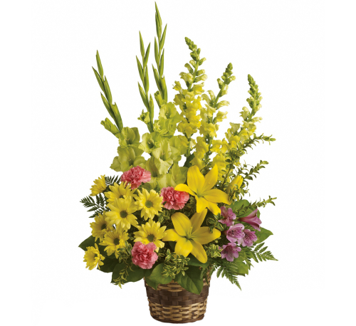 Teleflora's Vivid Recollections Basket