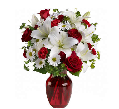 Teleflora's Be My Love Bouquet