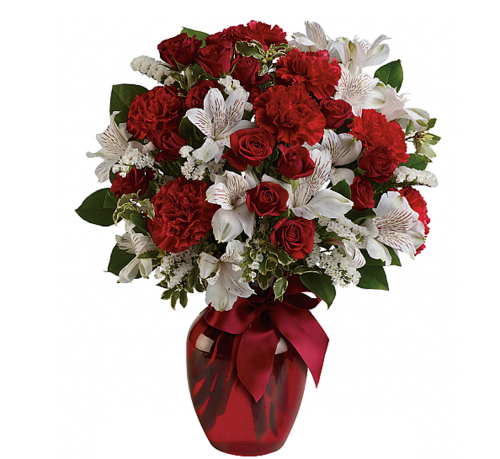 Teleflora's Light of My Heart Valentine's Bouquet