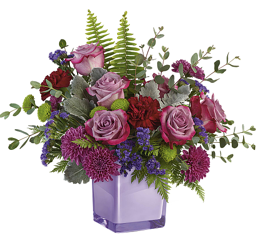 Teleflora's Purple Serenity Bouquet