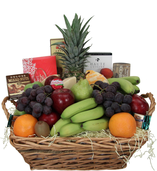 Fruit & Gourmet Hamper